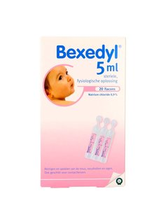 Bexedyl zoutoplossing 5ml - 20st