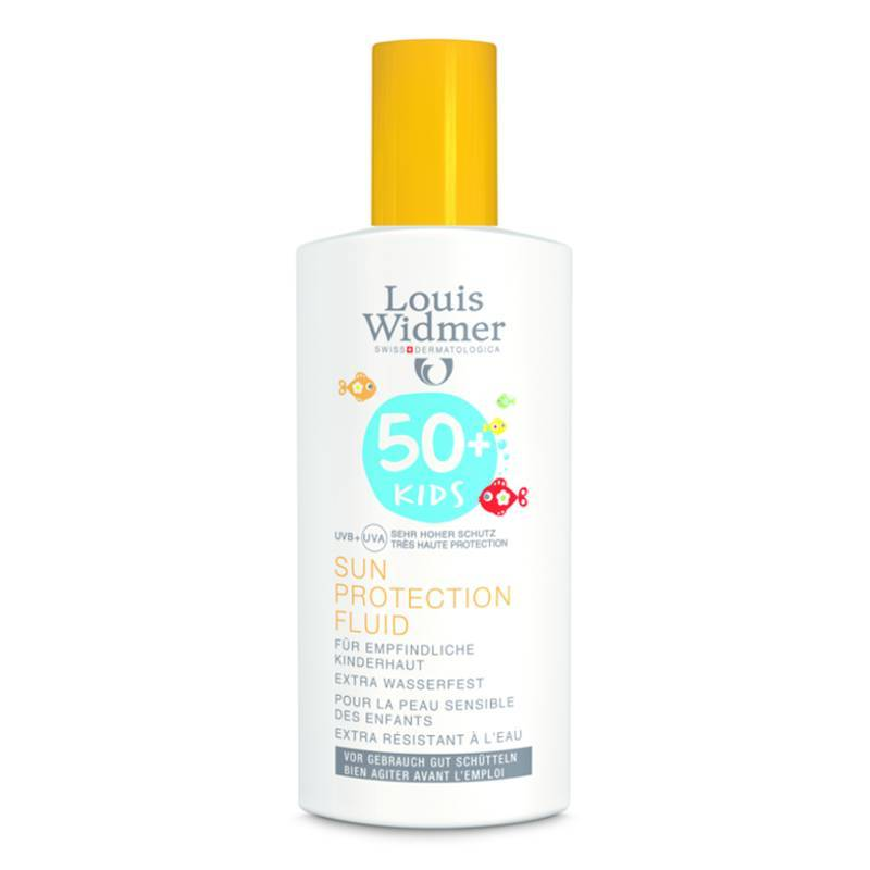 Louis Widmer Louis Widmer Kids Sun Protection Fluid 50 Zonder Parfum - 100ml