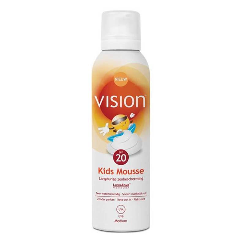 Vision Vision Kids Mousse All Day Sun Protection SPF20 - 150ml