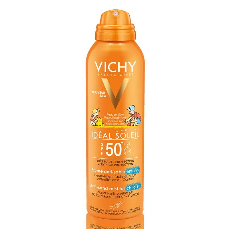 Vichy Vichy IDEAL SOLEIL Anti-Zand Spray voor kinderen SPF 50+ - 200ml
