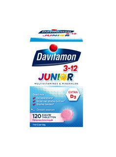 Davitamon Davitamon Junior Kauw Vitamines  - 60st
