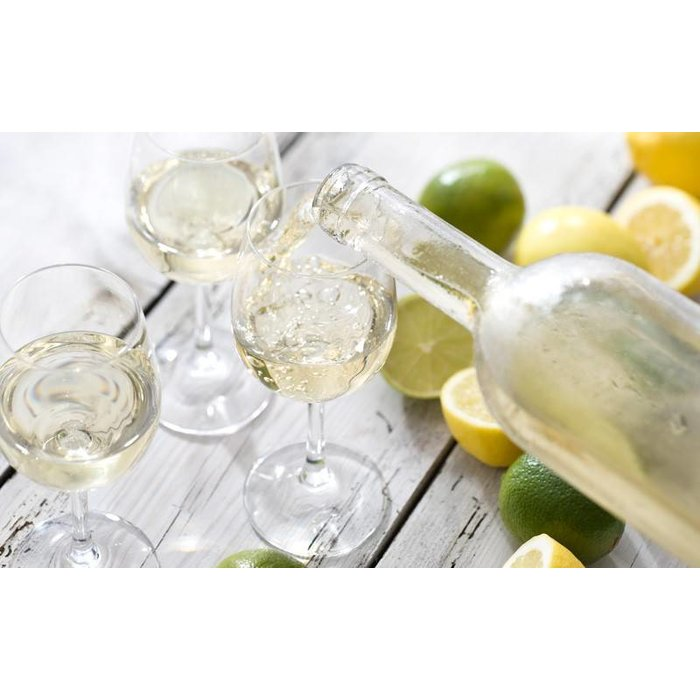 Bohemia Kristallen wijnglazen, per set van 6 glazen
