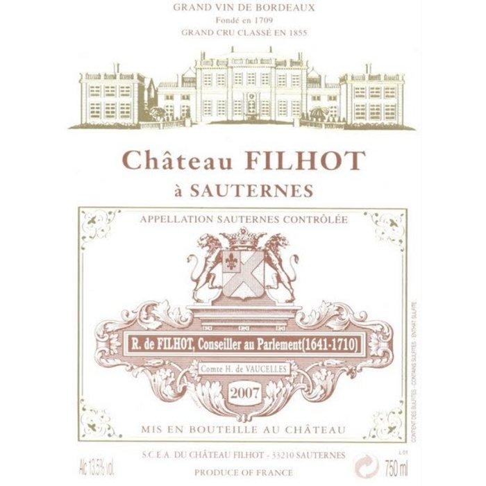 Château Filhot Sauternes Grand Cru Classé