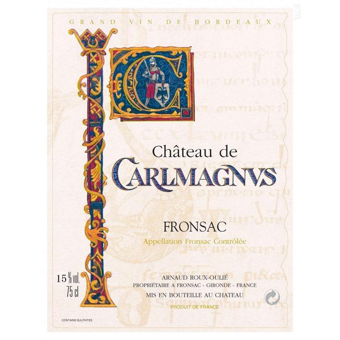 Château Carlmagnus Fronsac 2015