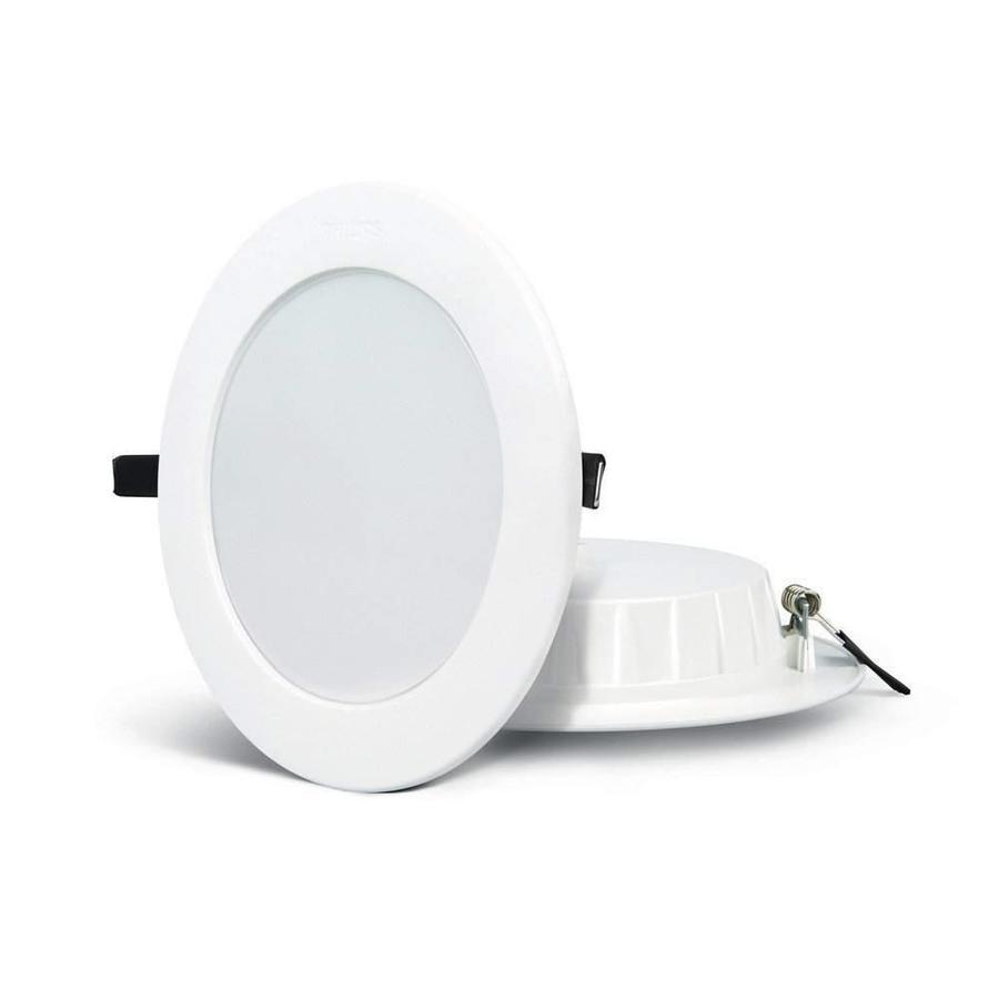 6W LED Downlight Indbygningspanel 3000K / 4000K rund Ø 115 mm 420 Lumen