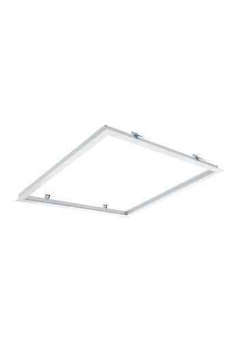 Loftsmonteringsramme til troldtekt og gipsloft - 60x60cm LED paneler