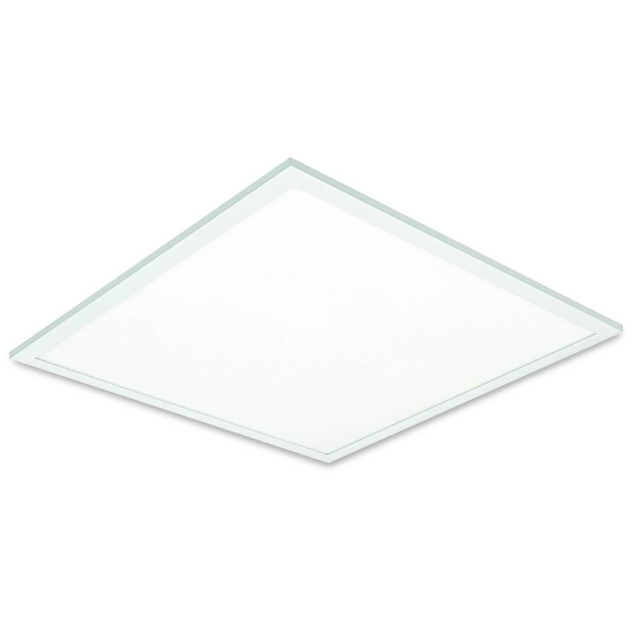 LED Panel 30x30cm - Varm hvid 3000K 830  18W 1620lm - Hvid kant - Inklusiv driver