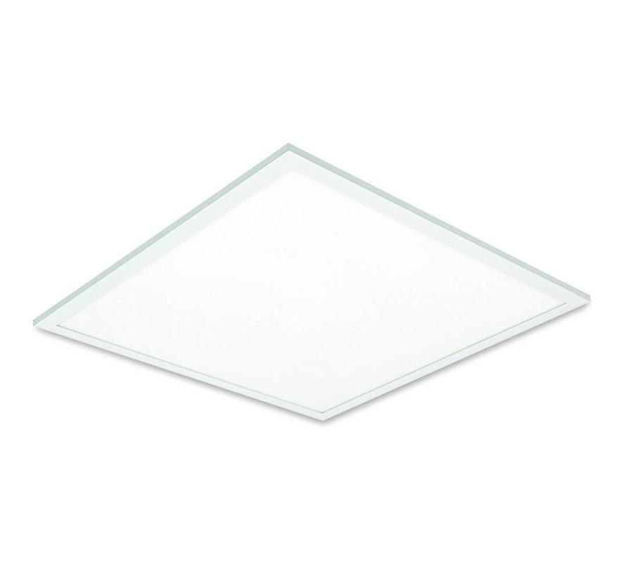 LED Panel 30x30cm - Kold hvid 6000K 865 12W 900lm - Hvid kant - Inklusiv driver