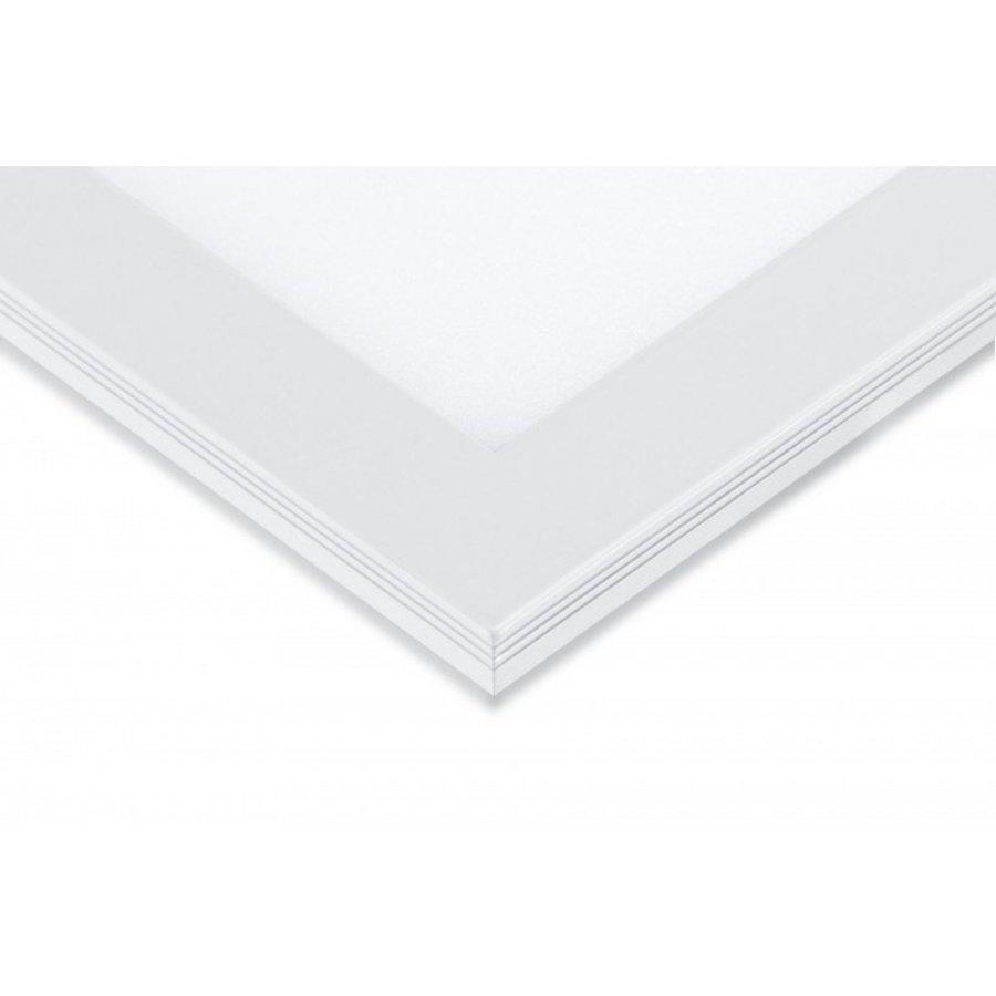 LED Panel 60x60cm - Varm hvid 3000K 830 40W 3600lm - Hvid kant - Inklusiv driver