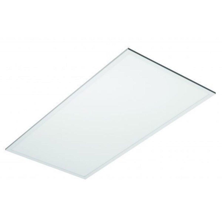 LED Panel 60x120cm - Naturlig hvid 4000K 840 - 60W 5400lm - Hvid kant - Inklusiv driver
