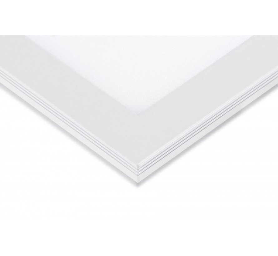LED Panel 60x120cm - Kold hvid 6000K 865 60W 5400lm - Hvid kant - Inklusiv driver