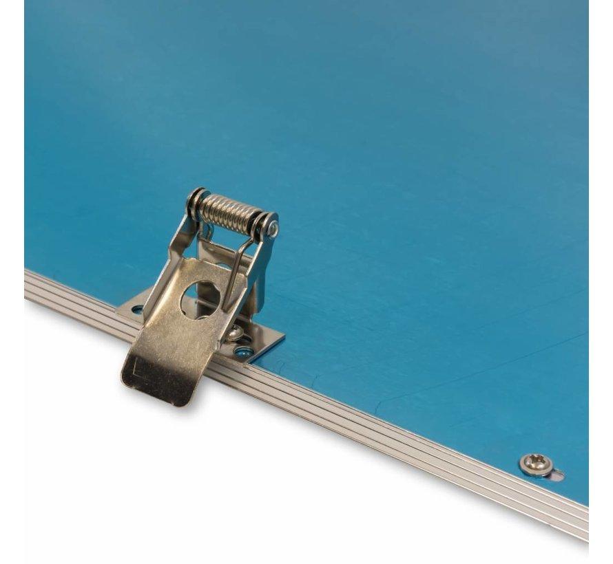 LED Panel beslag med 4 stk. til troldtekt og gips lofter