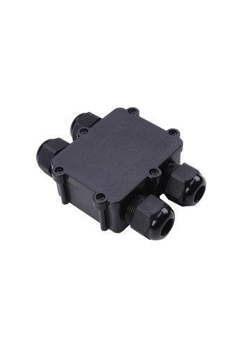 LCB Vandtæt samleboks til videresløjfning IP68 - 4 indgange