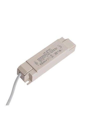 LED driver - Flimmerfri - DC27 - 40V 1000mA - Til 40W LED paneler