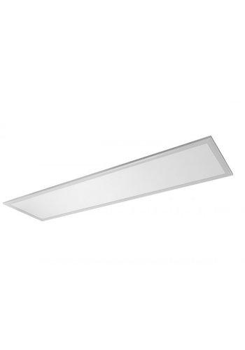 LED panel 120x30cm – Aluminium sølvkant – 6000K – 40W 3600lm
