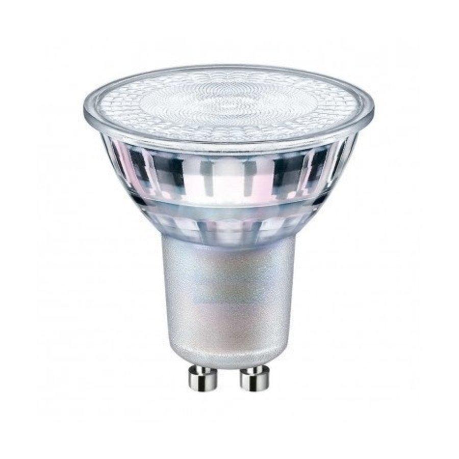 LED Spot GU10 – 5W erstatter 50W Naturlig hvid 4000K  – 230V - I glas