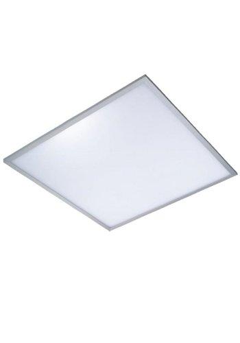 LED panel 60x60cm – Aluminium sølvkant – 4000K – 40W 3600lm