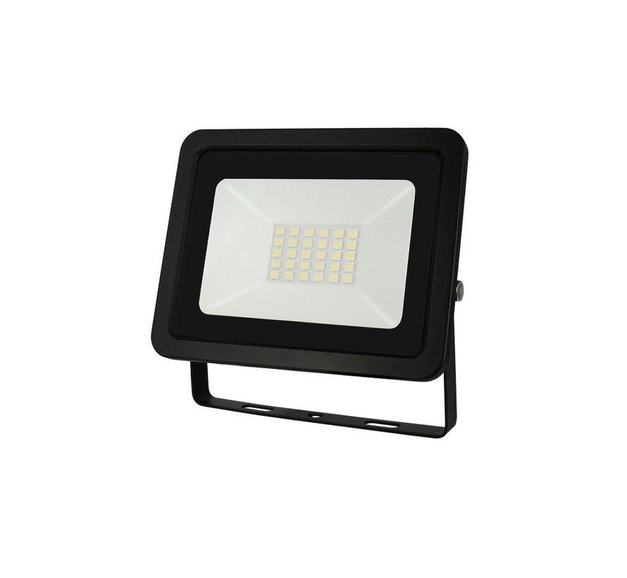 LED Projektør - 20W IP65 - Valgfri lysfarve - 3 års garanti