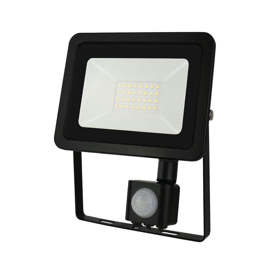 LED Projektør med sensor - 20W IP44 - Valgfri lysfarve - 3 års garanti