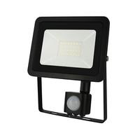 LED Projektør med sensor - 30W IP44 - Valgfri lysfarve - 3 års garanti