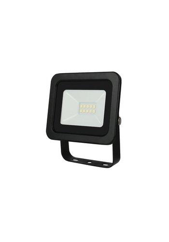 LED Projektør - 10W IP65 - Valgfri lysfarve - 3 års garanti