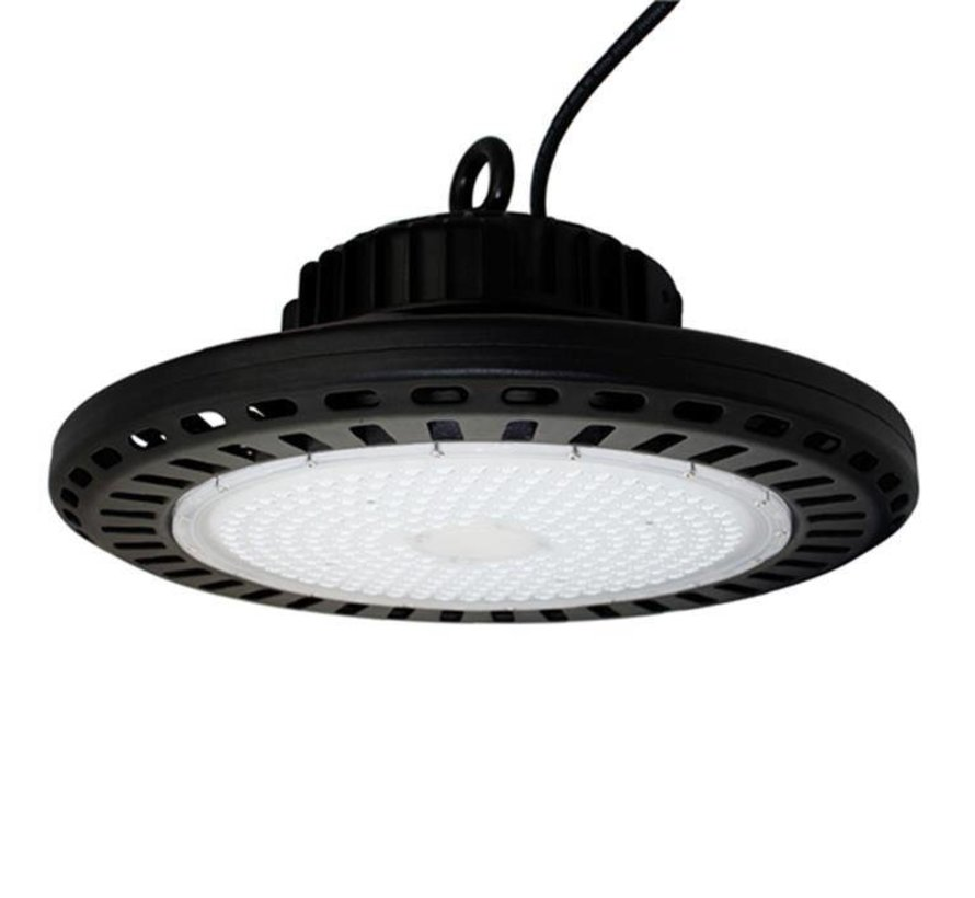 LED UFO High Bay Industrilampe IP65 – 100W erstatter 500W 12.000Lumen
