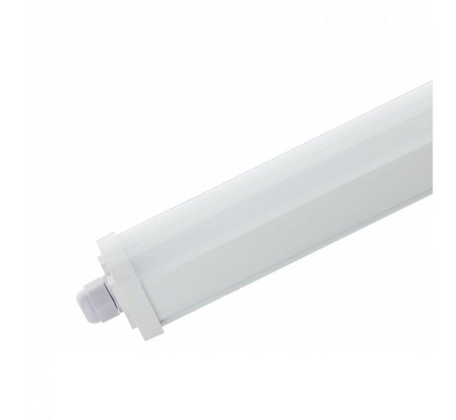Komplet LED ECO armatur 150 cm 50W 100lm p/W - Valgfri lysfarve Vandtæt IP65
