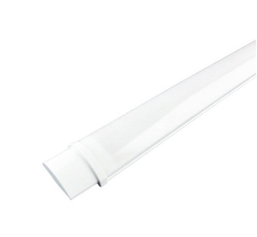 Vandtæt komplet LED armatur - 40W Valgfri lysfarve - Inkl. monteringsmateriale - 120 cm