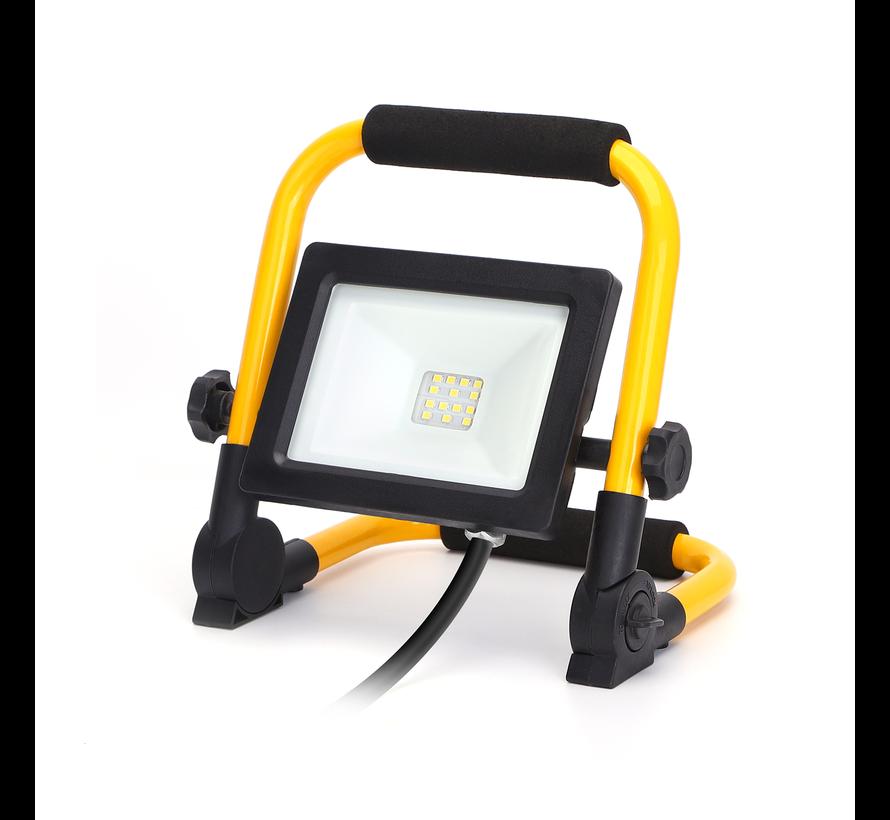 LED arbejdslampe – 10W 900lm 6500K – IP44 – Inkl. 150 cm strømkabel