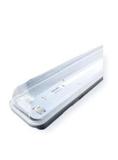 Vandtæt LED armatur - 60 cm - Til 2 LED lysstofrør