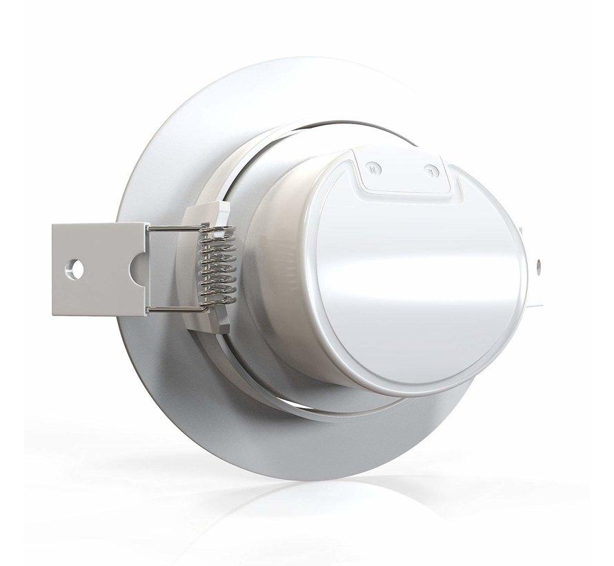 LED Downlight - 5W erstatter 35W - 3000K varmt hvidt lys - Kan vippes