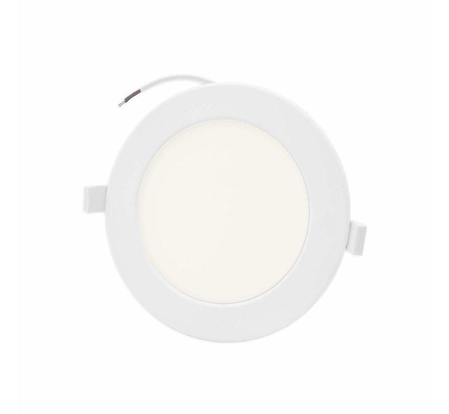 LED Downlight rund - 12W erstatter 100W - Monteringsmål 150x32mm - 4000K naturligt hvidt lys