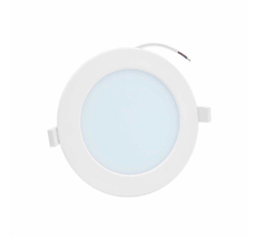 LED Downlight rund - 20W erstatter 160W - Monteringsmål 220x32mm - 6000K koldt hvidt lys