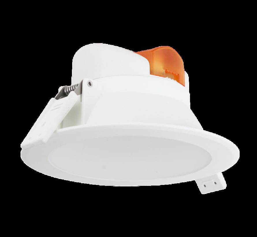 LED Downlight - 7W erstatter 55W - Monteringsmål 74mm - 3000K varmt hvidt lys
