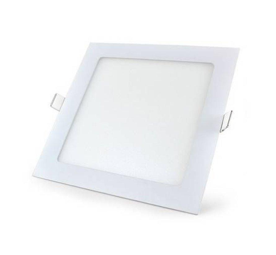 LED Downlight Firkantet - 18 Watt - 3000K/4000K/6000K - 200x200 mm