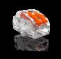 Conex samlemuffe 2-polet 0,5 op til 4mm2 - til fleksible og stive ledninger - Pris pr. stk.