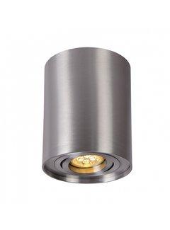 LED Påbygningsspot Justerbar Cylinderformet Aluminium - GU10-fatning