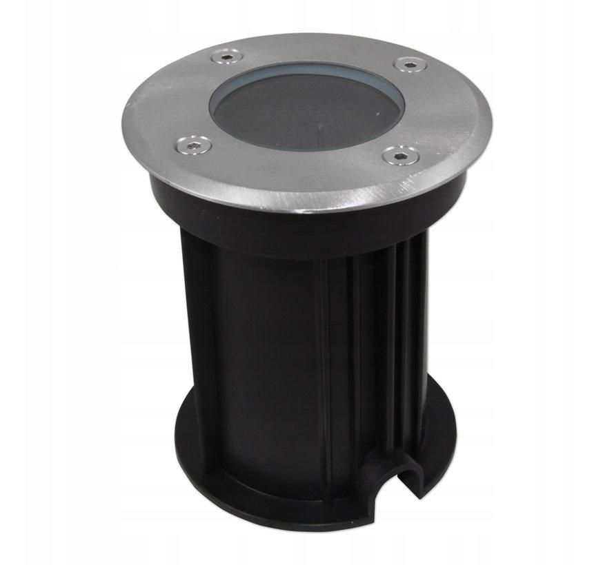LED rundt nedgravningsspot - GU10-fatning - IP66 vandtæt