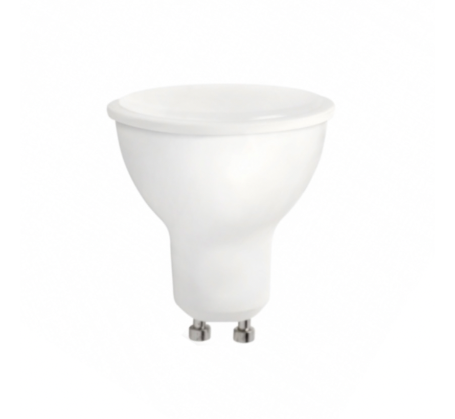 LED Spot GU10 - 8W erstatter 60W - 6000K koldt hvidt lys
