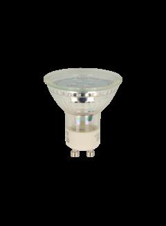 LED Spot GU10 - 1W 2700K varmt hvidt lys Erstatter 10W - I glas