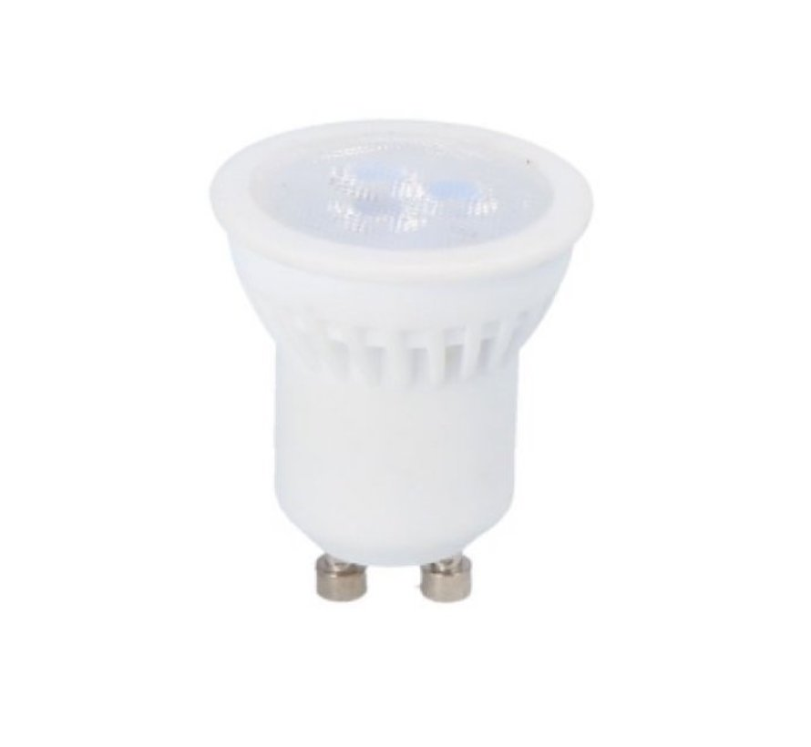 LED Spot - GU10/GU11 LED - Diameter 35mm - 3W erstatter 20W - 6500K kold hvid - keramisk
