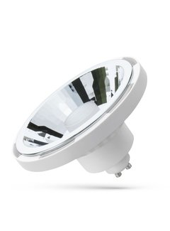 WiFi LED Spot hvid AR111 GU10 10W RGB+CCT alle lysfarver Betjenes via app