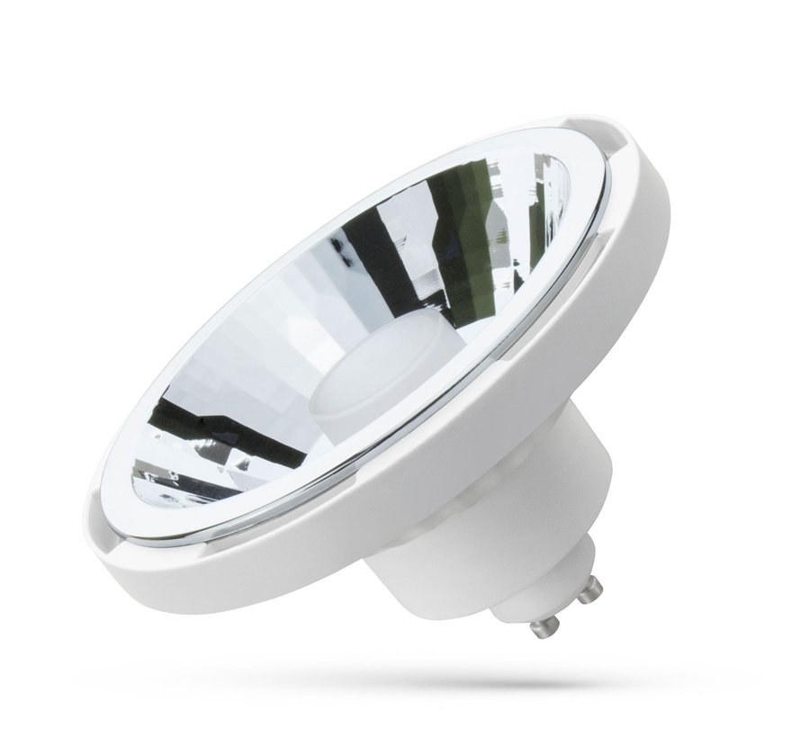 WiFi LED Spot hvid - AR111 GU10 10W - RGB+CCT alle lysfarver - Betjenes via app