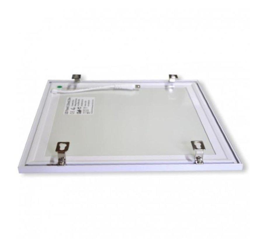 LED Panel monteringsbeslag til påbygning af panel - Fastgørelse uden påbygningsramme