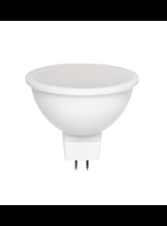 LED Spot GU5.3 - MR16 LED - 6W erstatter 40W 6000K koldt hvidt lys