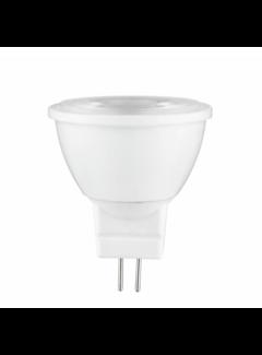 LED Spot GU4 - MR11 LED - 3W erstatter 25W 2700K varmt hvidt lys