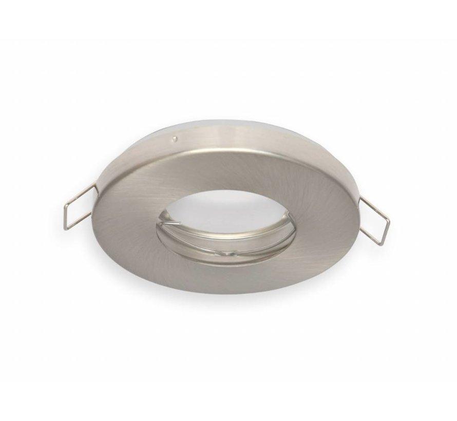Indbygningsspot Satin rund - Badeværelse IP44 - Indvendig mål 60 mm - Udvendig diameter 85mm