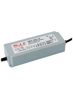 LED Strømadapter - 12V 120W 10A - Egnet til 12V LED-lys - IP67 vandtæt