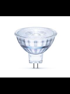 LED Spot GU5.3 - MR16 LED - 3W erstatter 25W 2700K varmt hvidt lys - I glas
