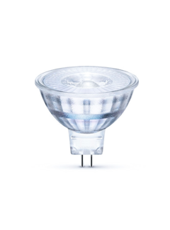 LED Spot GU5.3 - MR16 LED - 3W erstatter 25W 4000K naturligt hvidt lys - I glas
